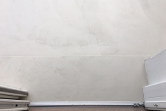 dettaglio pavimento in resina da esterni