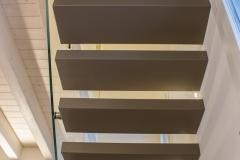 Visuale scale in resina da sotto